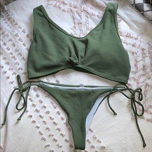 Zaful Thong Bikini